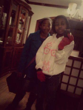 Me & My Lil Sis.! <3