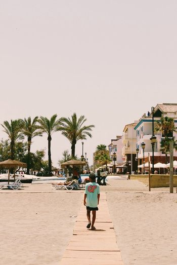 Sand Summer Beach Youth Of Today Beige Tones Odd Future Of Walkway Palm Trees SPAIN Athleisure