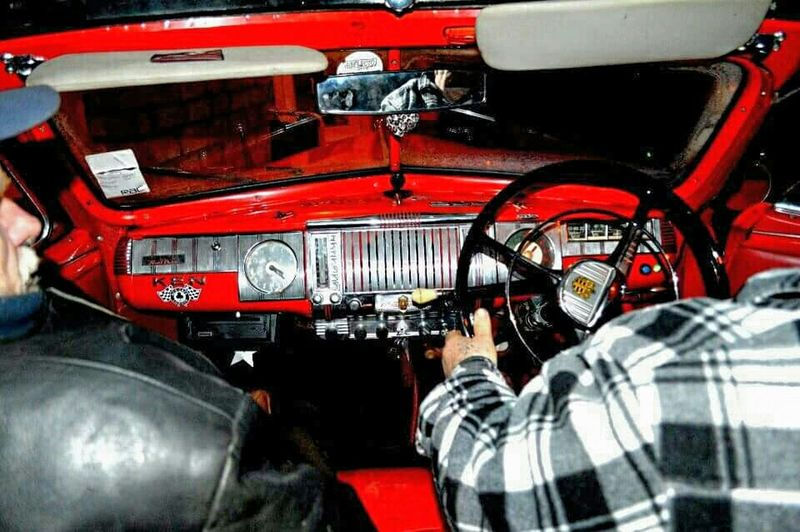 At The Wheel 1948 Dodge Convertible Driving Home Classic Cars Dursley Gloucestershire