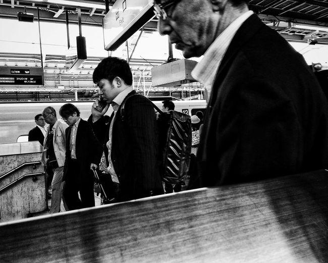 Men in shopping cart