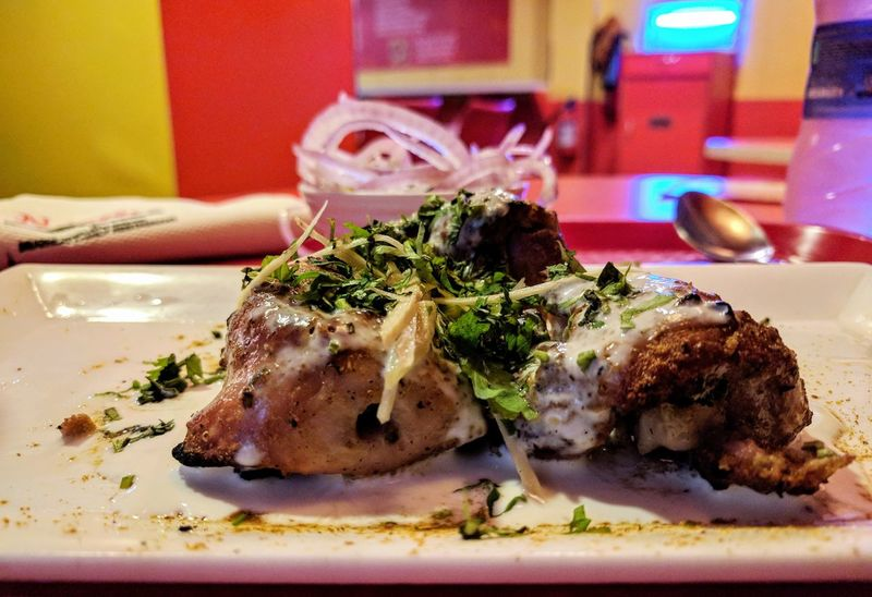 Chicken Afghani Tikka 🍖🍗🍖 Indoors  Food Food And Drink Ready-to-eat Plate Close-up Chicken Afghani Tikka Nexus6pphotography 3XSPUnity PatelMohit Photography Chickentikka Nexus6P Closeup Photography Afghani Chicken