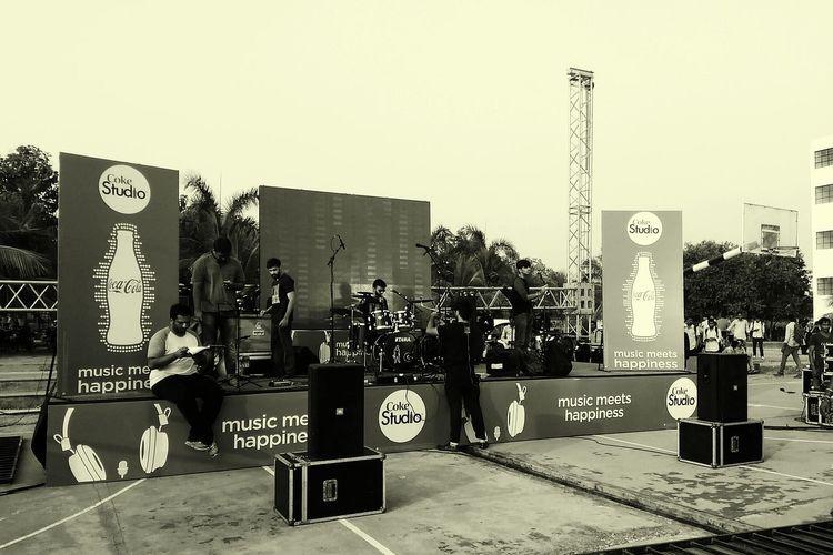 Concert Photography Divine Raaga Band Coke Studio Rock'n'Roll After Long Time Rockedthehouse