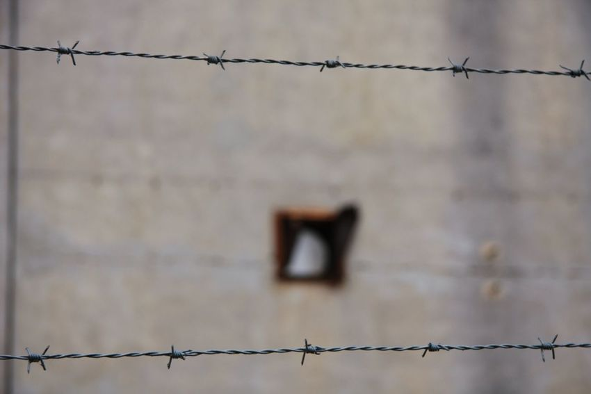 Borders Boundary Boundries Fence Focus On Foreground Protection Safety Sharp Trapped Unsafe Wire