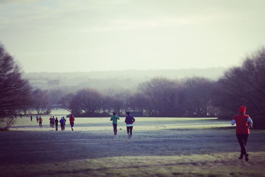 Parkrun Running Landscapes With WhiteWall