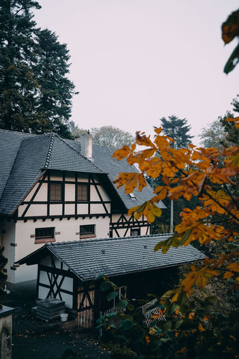 Windeck Castle in the Black Forest, Germany Tree Nature Day Outdoors Castle Fairytale  Fairy Tale GERMANY🇩🇪DEUTSCHERLAND@ Old Buildings Truss Autumn Old House Black Forest Schwarzwald