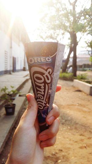 My favourite ice-cream🍦 Oreoicecream Laos2017
