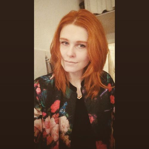 Redhair Ginger Hipster Flowerpower mode fashion diesdas