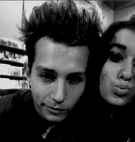 me and my besttie ! JAMES FROM THE VAMPS