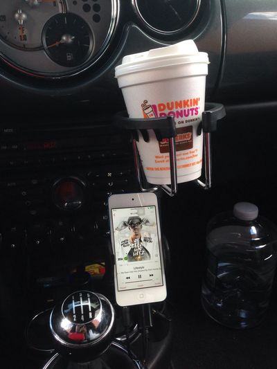 Dunkindonuts PolandSpring All I need to start my day ?