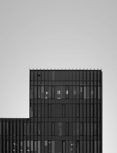 Architecture Building Building Exterior Built Structure City Clear Sky Control Copy Space Day Freedom Future Low Angle View Metal Modern Nature No People Opportunity Outdoors Sky Strength