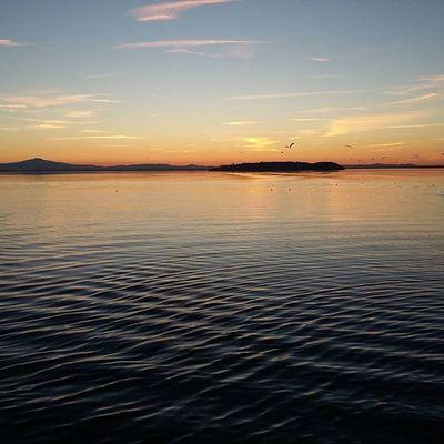 Passignano Lake Sunset Trasimeno Pomeriggieasy Autumn2015
