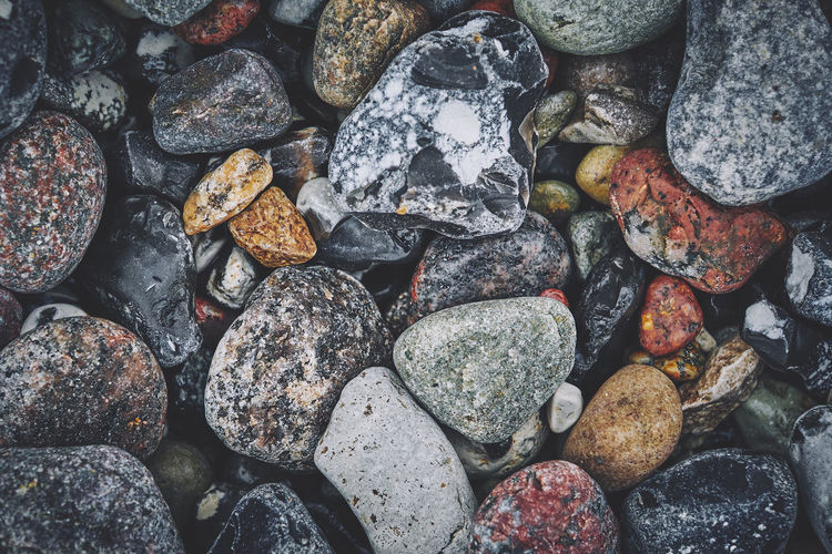 On the coast of Rügen, Germany Rügen Abundance Backgrounds Beach Choice Close-up Day Directly Above Fujifilm Full Frame High Angle View Large Group Of Objects Macro Nature No People Outdoors Pebble Rock Rock - Object Rough Solid Stone Stone - Object Textured  X-t2