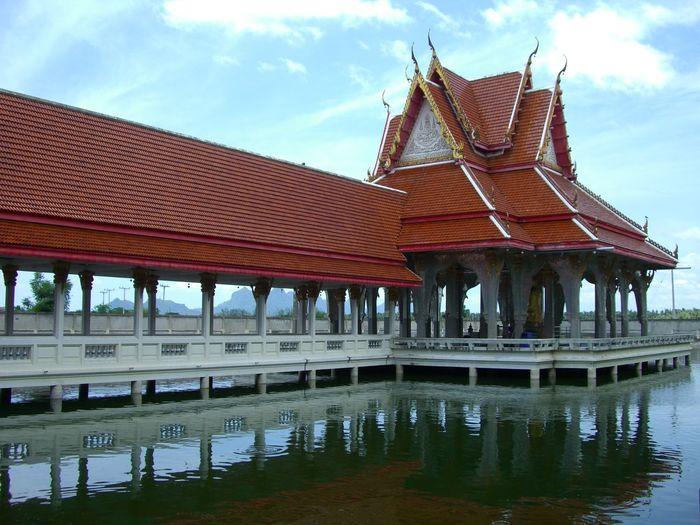 Thailand Thailand_allshots Templeonwater Temple Huahin