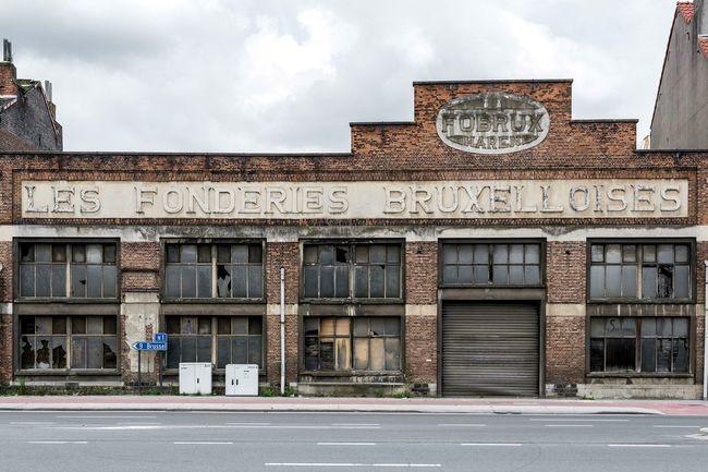 Fobrux Brussels Bruxelles Urban Urban Exploration Abandoned Abandoned Buildings Industrial Industrial Architecture Belgium Belgique Belgie Roadside Streetview Street