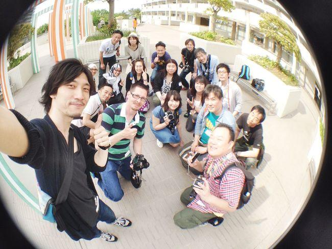 FGEM Tokyo 4 Gizmon Fisheye Thanks To EyeEm Project 2014 Everyday Joy