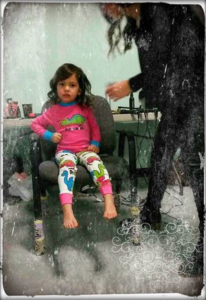 Young Model Hair And Makeup Artistic Photo Enjoying Life