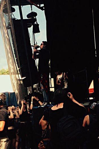 Ronnie Radke🤘🏼 Ronnieradke Photo By Me Warped Tour  Fallinginreverse Crowd RockandRoll Beginnerphotographer