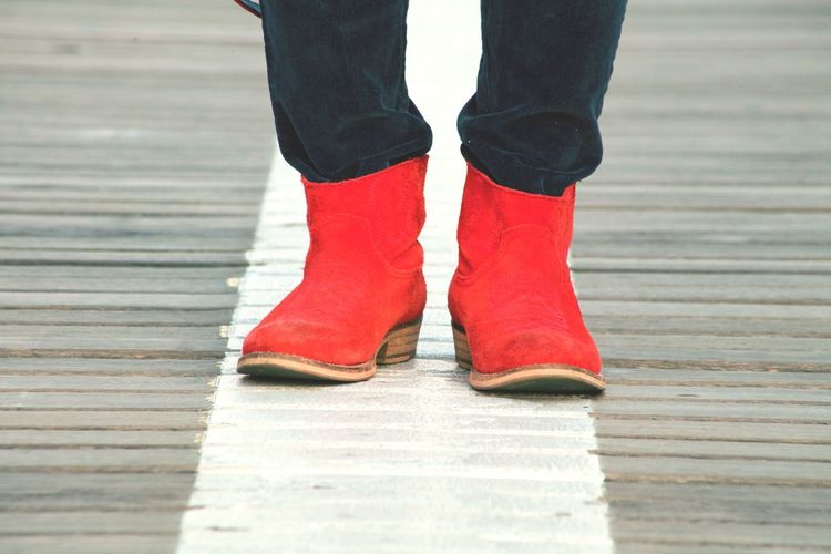 These Boots Are Made For Walking Red Boots Womens Portraiture Cowboyboots Red Feminity Fashion Forever