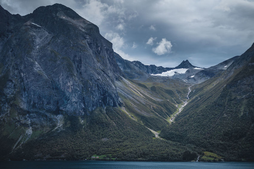Dark Eikesdalen Eikesdalsvatnet Hiking Light Norway Beauty In Nature Cloud - Sky darkness and light Day Environment Extreme Terrain Formation Height Lake Land Landscape Light And Shadow Mountain Mountain Peak Mountain Range Nature No People Outdoors Rock Scenics - Nature Sky Tranquil Scene Tranquility Water Waterfall Wilderness The Great Outdoors - 2018 EyeEm Awards