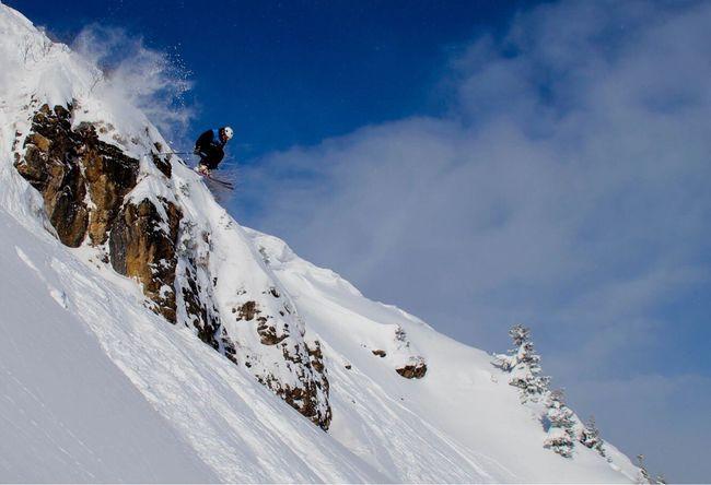 Freeski Snow Winter Cold Temperature Mountain Outdoors Adventure Nature Extreme Sports One Person Ski Freeskiing Jumpshot EyeEmNewHere