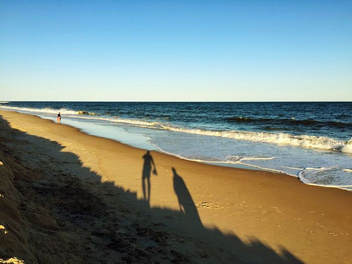 Casting shadows. EyeEm Best Shots Beaches Hamptons New York Travel Travel Destinations Travel Photography Tourism Beach Beachphotography Beach Photography Landscapes With WhiteWall Blue Wave Share Your Adventure