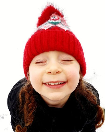 Baby Smiling Child Winter Happiness Children Only Childhood One Person Fun EyeEmNewHere