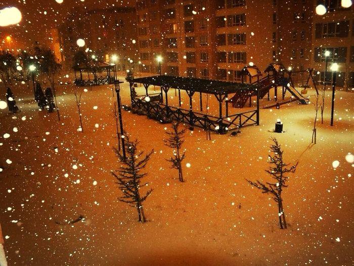 Snow Istanbul 2013
