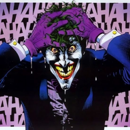 Selfie it's been a hard day, week, month, year, life hahahahaha Joker Batman TheKillingJoke