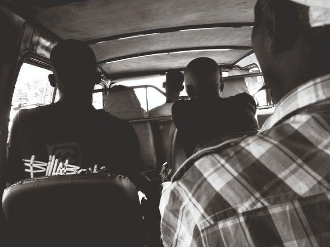 On The Road Public Transportation Chapa Beira Mozambique The Photojournalist - 2015 EyeEm Awards Blackandwhite The Street Photographer - 2015 EyeEm Awards Streetphotography Peoplephotography