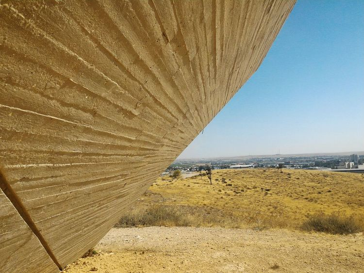 Be'er Sheva Israel Monument Cityscapes View Desert South Panoramic Wall Architecture The Essence Of Summer