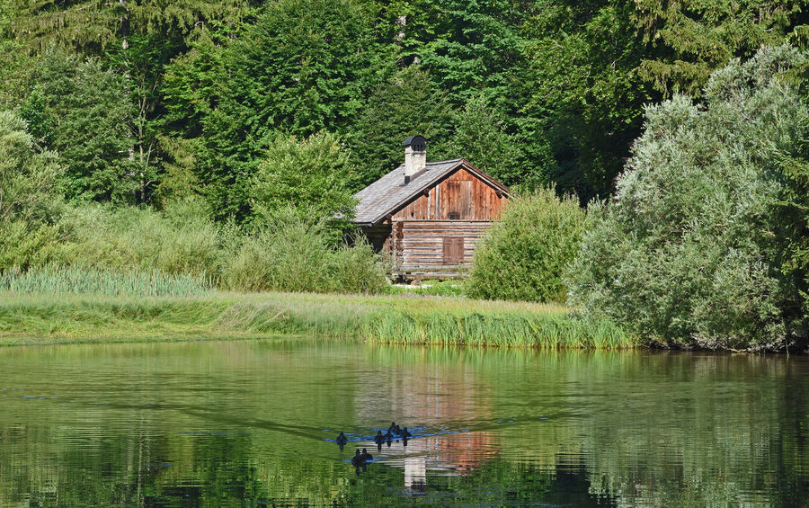 Salzkammergut Taferlklaussee Architecture Beauty In Nature Building Building Exterior Day Green Color Growth House Lake Nature Nautical Vessel No People Outdoors Plant Scenics - Nature Tranquility Tree Water Waterfront EyeEmNewHere