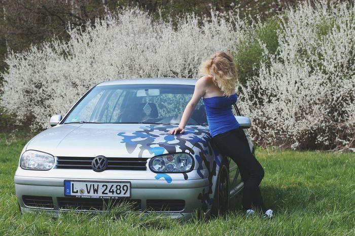 Me Canon Golf4 Mk4 Mk4gti VW Volkswagen Wheels Blond GermanGirl