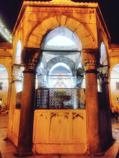 #Sultanahmet The Architect - 2018 EyeEm Awards Architectural Column Arch Architecture Built Structure