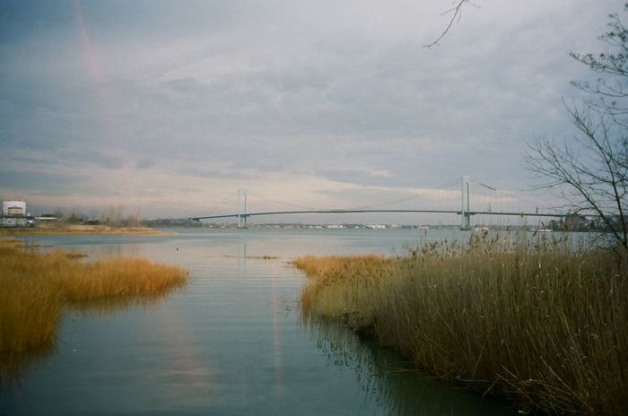 Whitestone Bridge Whitestone Whitestone Bridge New York City Nature Bridge Bridge - Man Made Structure East River, NYC Outdoors Water Tranquility Film Filmisnotdead Filmphotography 35mm Film 35mmfilmphotography 35mm Camera