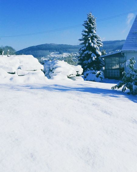 Sky Sky And Clouds Cold Temperature Nature Winter No People Tree Village Forest Snowing Mountain House Ice Cloud Wonderfull Outdoors Snow ❄ Landscape Wonderlust