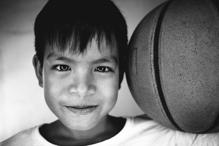 Boys Childhood Close-up Day Elementary Age Happiness Headshot Indoors  Looking At Camera One Boy Only One Person People Portrait Real People Smiling Fresh On Market 2018