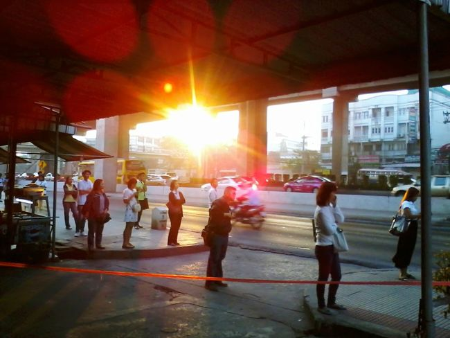 How's The Weather Today? Daydreaming 'enjoy The Sun Walking Around Bangkok,Thailand(Siam)