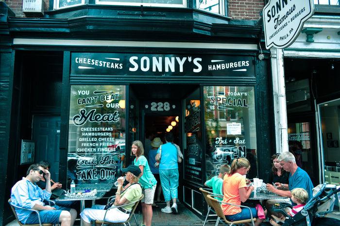 Adventure Burguer Cheesesteak Memories Philadelphia Photo Sonny's