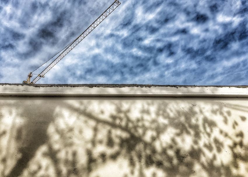 Low Angle View Sky Cloud - Sky Cable No People Built Structure Outdoors Day Nature EyeEmNewHere