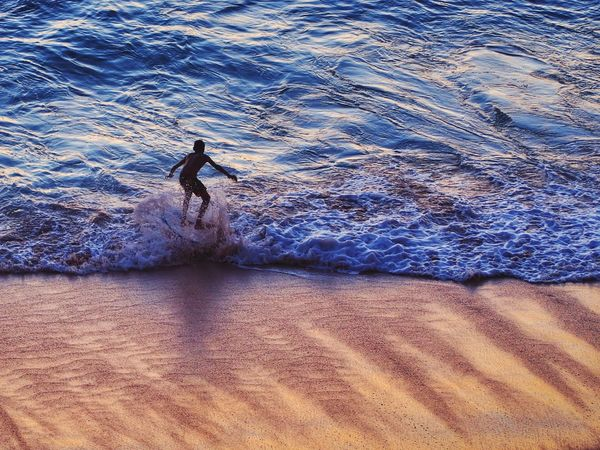 Skim Boarding Surf Sunset Surfing Difficult Sillouette Beachphotography Beach Waves