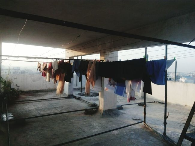 Hanging Drying No People Day Indoors