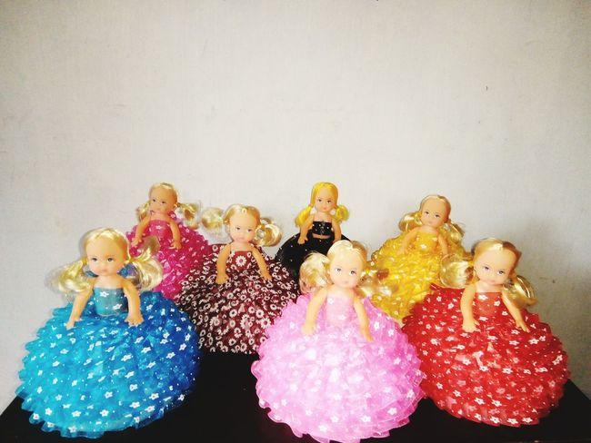 Childhood Girls Toy Black Ribbon Ribbons Ribbon Bow Ribbon Dall Cute Toys Toyphotography