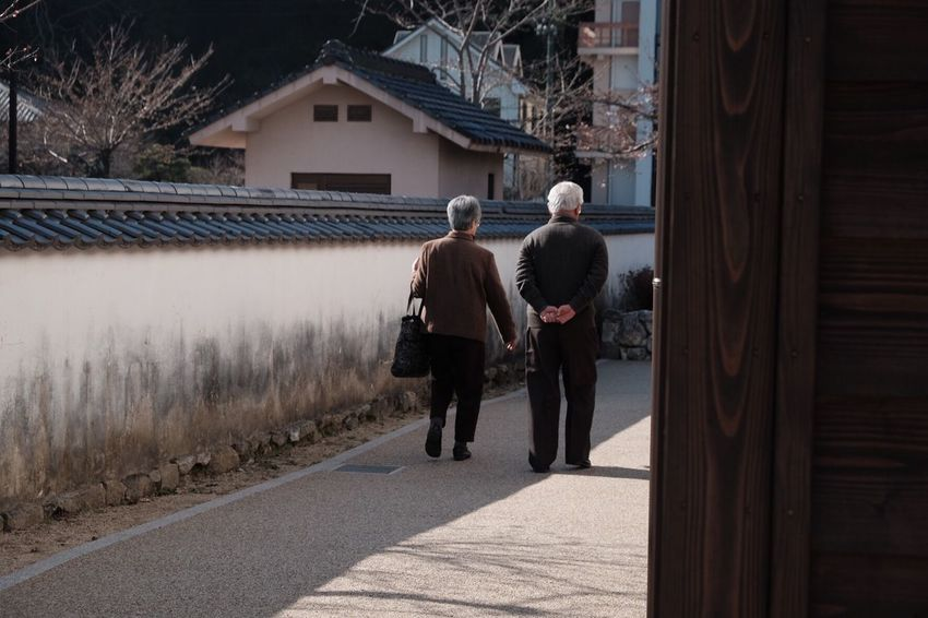 Sunday Two People Walking Peace Love ♥ Japan Photography FUJIFILM X-T1 Fujifilm Future Togetherness Spring