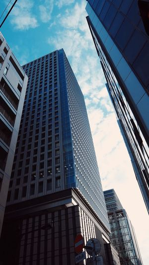 NY みたいだ、まるで。 Tokyo Japan around Tokyo Station Lookingup Cityscapes Architecture