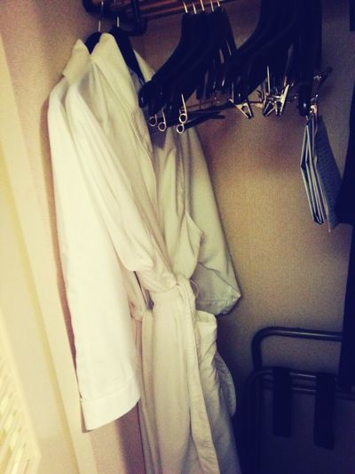 complimentary robes! heck yes!