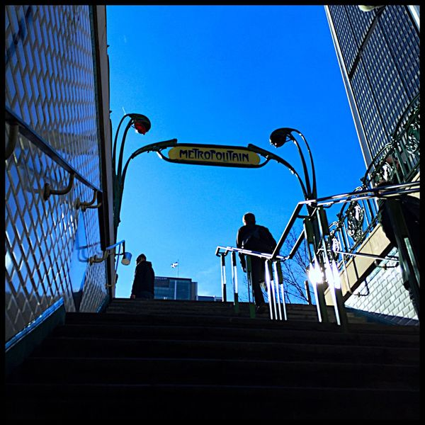 Métro Boulot Dodo Station Stars Art Deco