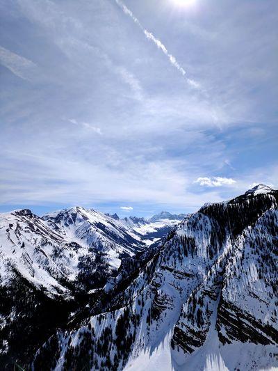 Vacation Views Snow Winter Landscape Mountain Colorado Rocky Mountains Outdoors Vacation Skiing Aspen