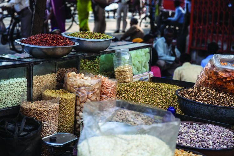 Food stall in Jaipur, India Food Healthy Eating Jaipur Market Marketplace Nuts Streetfood Streetfood Worldwide