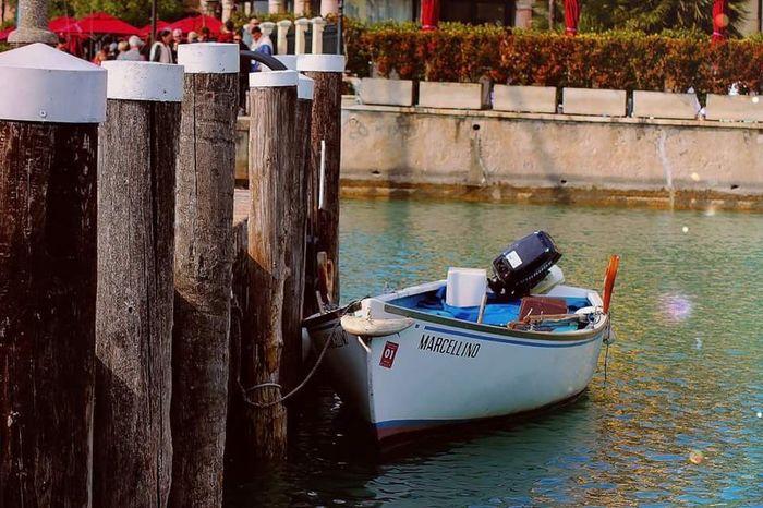 Showcase April Colorful Boat Lake Bluewater Sunny Day Reflect Myland  Loveitaly