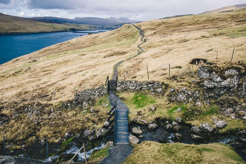 Archipelago Atlantic Atlantic Ocean Grass Hiking Nature Road Abandoned Absence Adventure Cliff Faroe Faroe Islands Fauna Fjord Flora Ocean Sea Sheep Waterfall The Traveler - 2018 EyeEm Awards